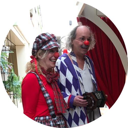 Clownen in Utrecht